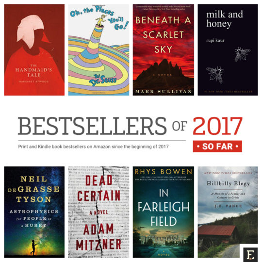 The Most Popular Books Of 2017