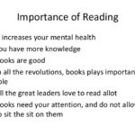 Why Reading Is Important For Your Health