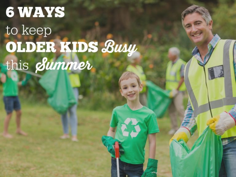 Six Ways To Keep Children Busy