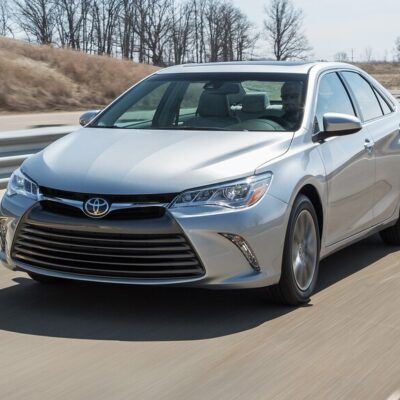 2015 Toyota Camry: The Best Brake Pads & Rotors