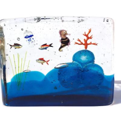 The Illusion of Murano Glass Aquariums
